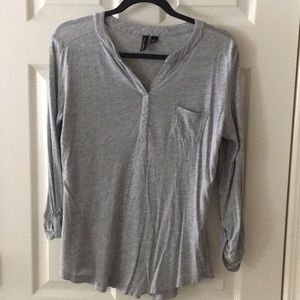 Cynthia Rowley 3 quarter length shirt